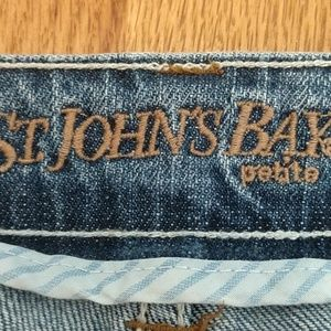 PETITE!!! St John's Bay Bootleg Jeans